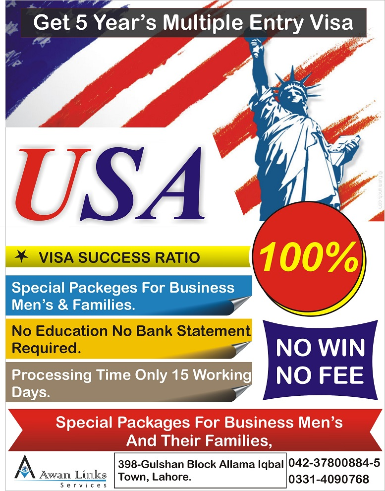 Usa Visa on Done Bases