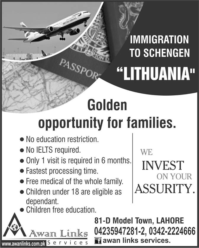 Lithuania Immigration