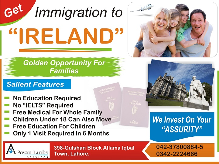 IRELAND BUSINESS IMMIGRATION