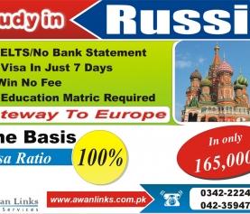 Russia Study Visa