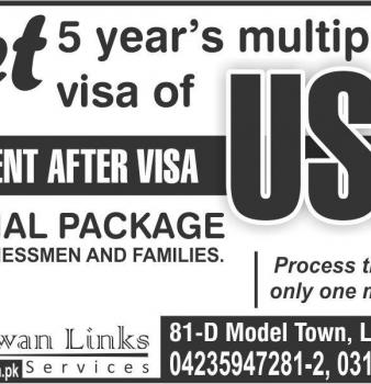 USA Multiple Visa